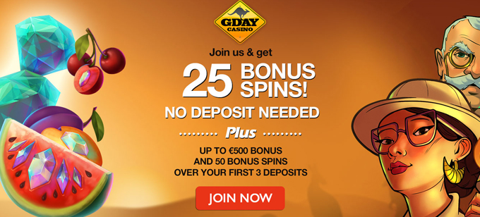 Gday Casino No Wagering Requirements