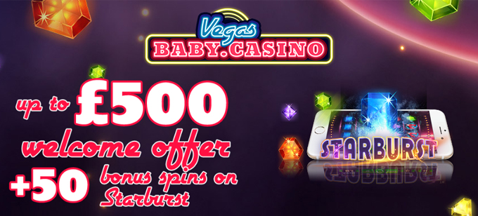 Vegas Baby Casino Low Wagering Requirements