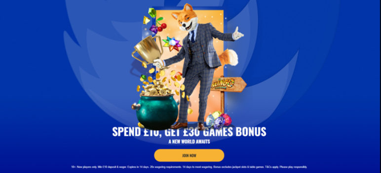 Foxy Games Casino Low Wagering Requirements